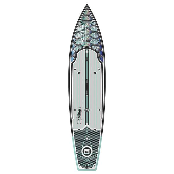 Bote 12 39 rackham bug slinger fishing stand up paddleboard for Bote paddle board with motor