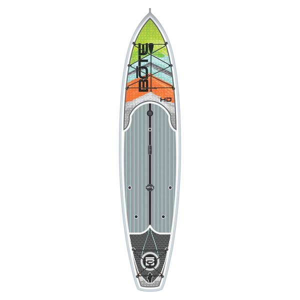 Bote 12 39 hd native stand up paddleboard west marine for Bote paddle board with motor
