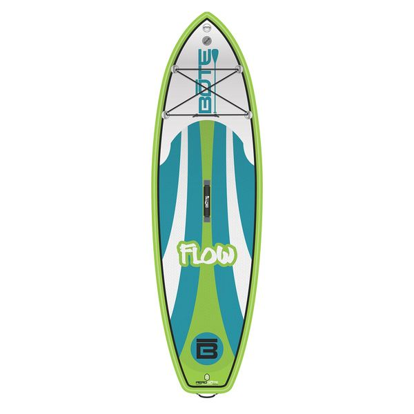 Bote 8 39 flow native inflatable stand up paddleboard west for Bote paddle board with motor