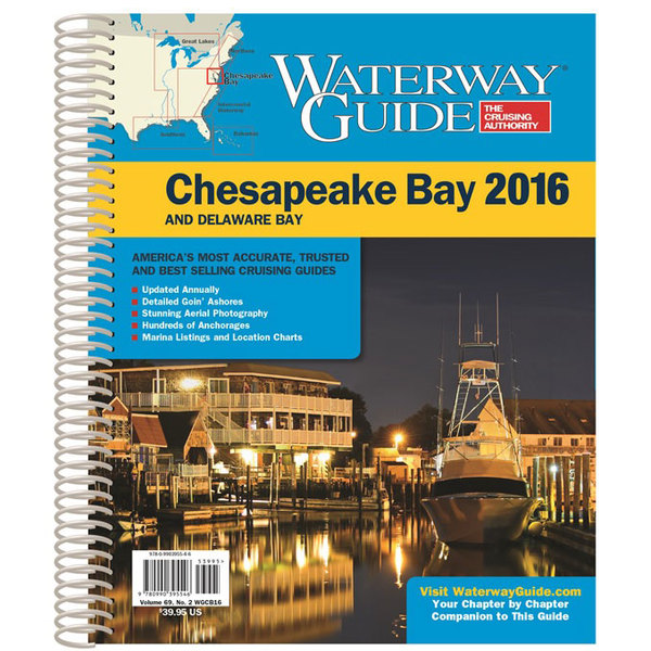 Waterway Guide Chesapeake Bay 2016 Sale $39.95 SKU: 17041112 ID# WGCB16 :