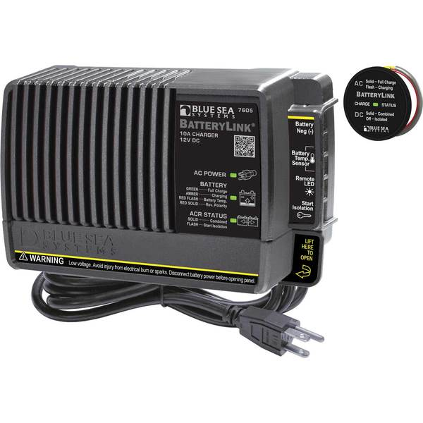 Marine Battery Charging Systems : Blue sea systems batterylink charger west marine