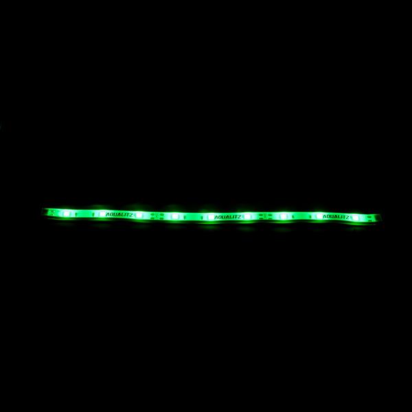 aqualitz ruggedledz green strip lights 12 west marine. Black Bedroom Furniture Sets. Home Design Ideas