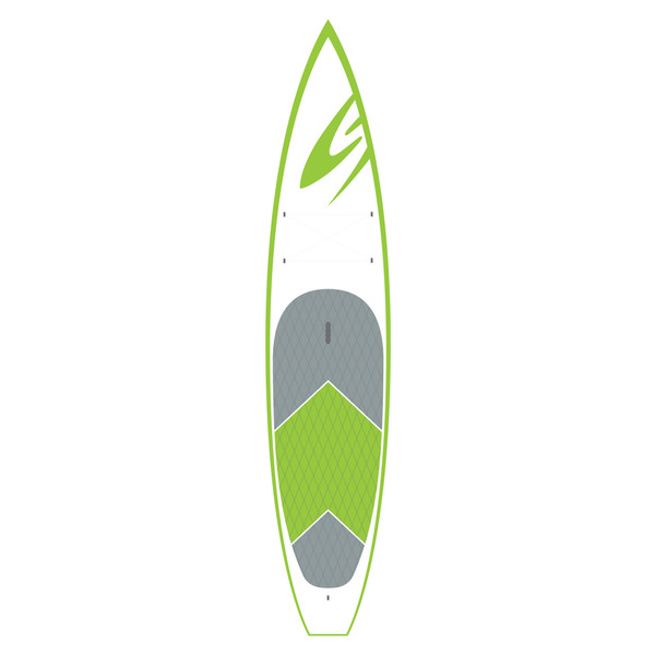 Surftech 11'6 Sport Touring AST Stand-Up Paddleboard, Green
