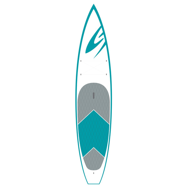 Surftech 12'6 Sport Touring AST, Stand-Up Paddleboard, Blue