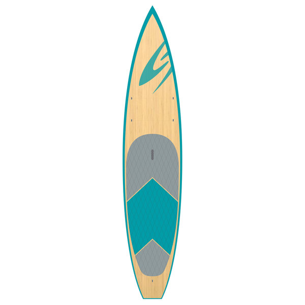 Surftech 12'6 Sport Touring TEKefx Stand-Up Paddleboard, Blue