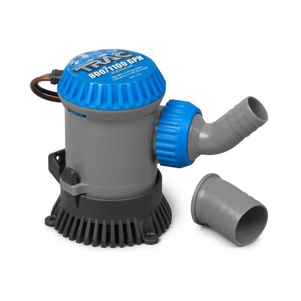 Trac® 800/1100 GPH 3/4 & 1-1/8 Bilge Pump