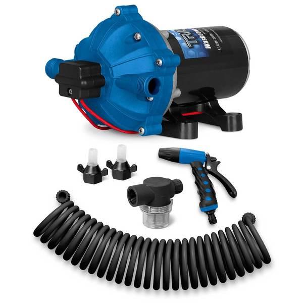 Trac® Washdown Pump Kit, 12v, 5 GPM, 70 PSI