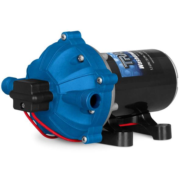 Trac® Super Duty Washdown Pump, 12v, 5.3 GPM, 70 PSI