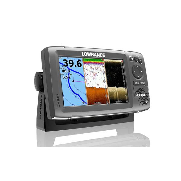 Lowrance hook 7 fishfinder chartplotter without transducer for West marine fish finders