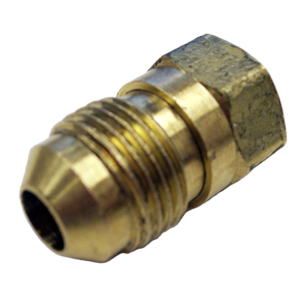 Fireboy-xintex Adapter, 3/8 Male Flare to 1/4 Female NPT