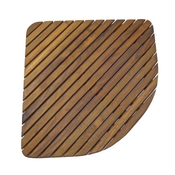 Seateak Shower Mat with Oiled Finish, Triangle Sale $99.99 SKU: 17271719 ID# 60023 :