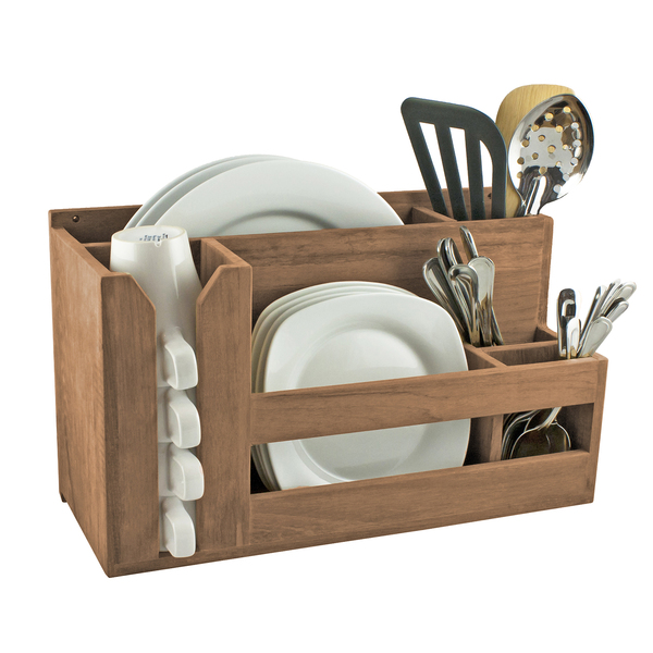 Seateak Dish/Cup/Utensil Holder Sale $139.99 SKU: 17271834 ID# 62404 :