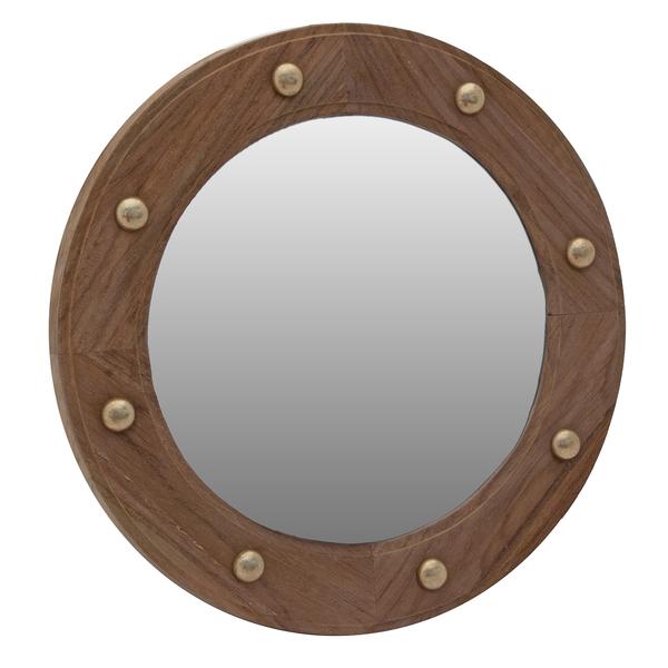 Seateak Mirror Porthole Sale $64.99 SKU: 17271966 ID# 62540 :