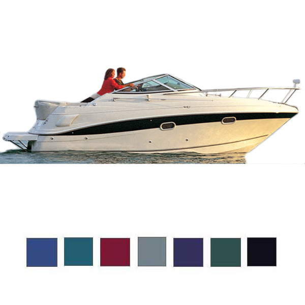 Taylor Made V-Hull Cuddy Cabin Cover, OB, Black, Hot Shot, 24'5-25'4, 102 Beam Sale $649.99 SKU: 12399440 ID# 72925OR UPC# 40011233448 :