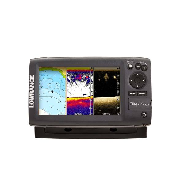 Lowrance Factory Inspected and Certified Demo Unit; ELITE-7 HDI with 83/200 Tran Mt. Transducer and US Base Map Cartography Sale $329.99 SKU: 17292525 ID# 151-10262-001 :