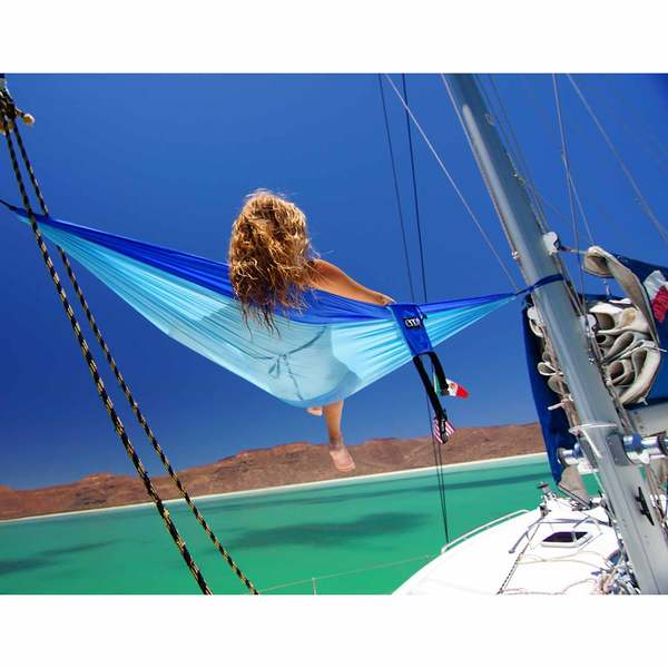 Eagles Nest Outfitters Doublenest Hammock Navy Royal Blue