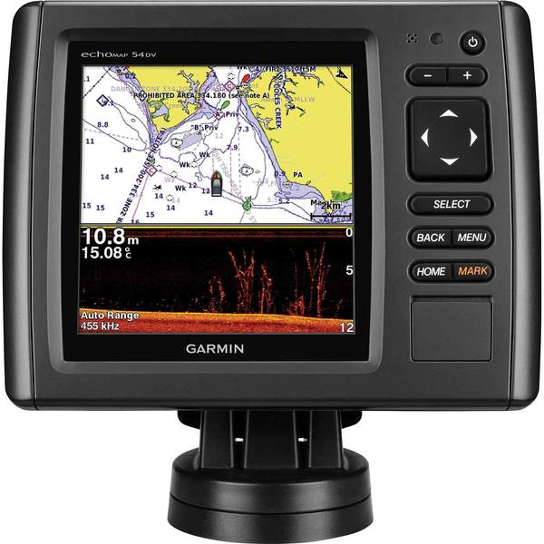 Garmin echomap 54dv chartplotter sonar combo with downv for West marine fish finders