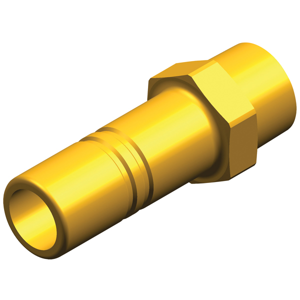 Whale Pumps Stem Adapter 1/2 NPT Male to 15mm (Brass)
