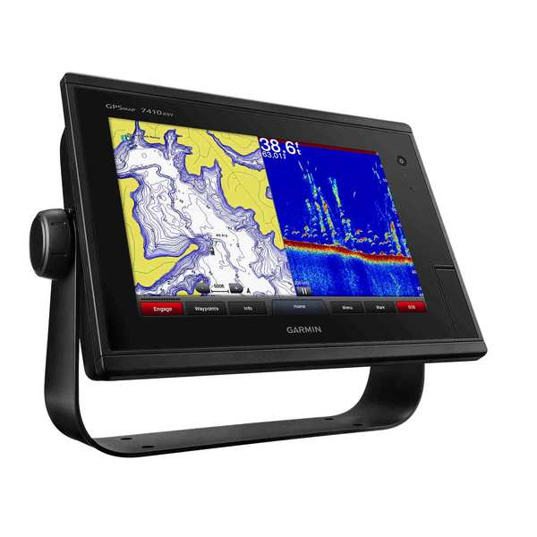Garmin gpsmap 7410xsv 10 chartplotter fishfinder with gps for West marine fish finders