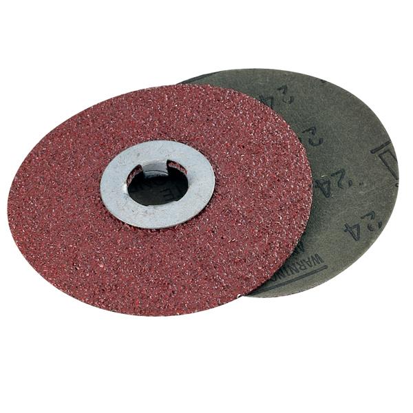 3M Grit-Lok Fiber Discs - 20 Pk