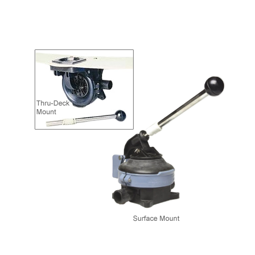 Whale Pumps Surface-Mount Titan Bilge Pump Sale $164.99 SKU: 182337 ID# BP4402 UPC# 766478440204 :
