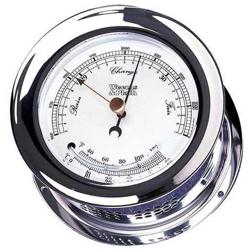 Weems & Plath Atlantis Barometer/Thermometer