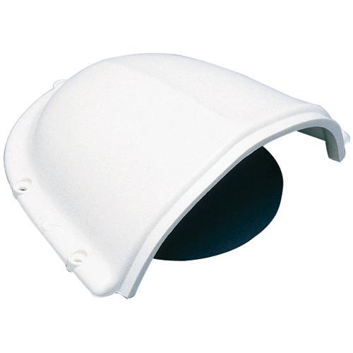 Nicro Ventilation PVC Clamshell Vent, 3H x 5-3/8W x 6-3/4L