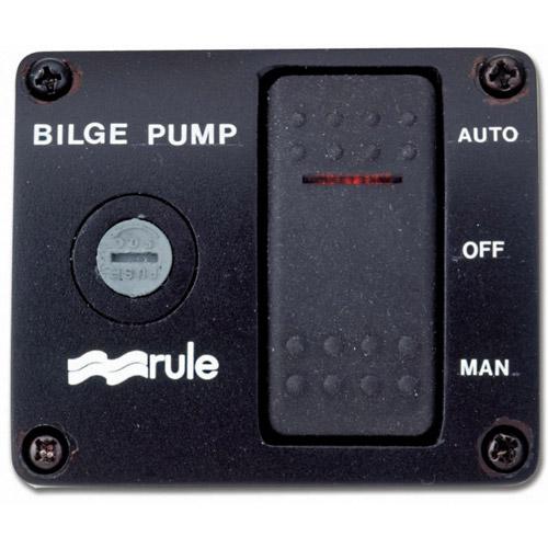 Rule Industries Three-Way Rocker Panel Switch
