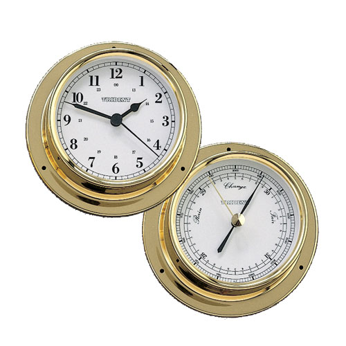 Trident Bimini Clock/Barometer Collection