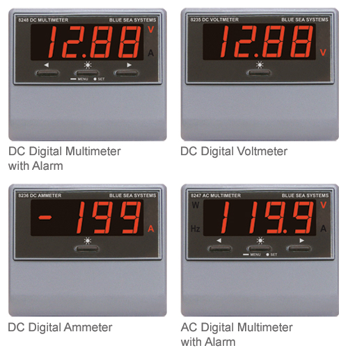 Blue Sea Systems AC Digital Frequency Meter