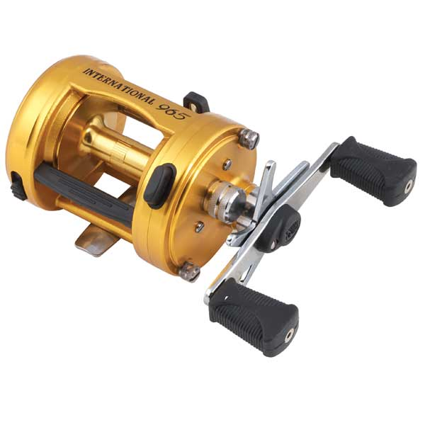 PENN International Baitcaster Reel, 240/15lb Yds/Test, Gear Ratio-4.8:1, 12oz#965 Sale $299.95 SKU: 309610 ID# 965 UPC# 31324009653 :