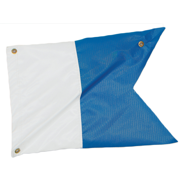 Marine Sports Flag Alpha - 14 x 19
