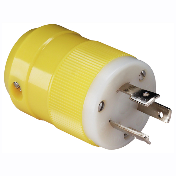 20 Amp, 125 Volt Locking Plug