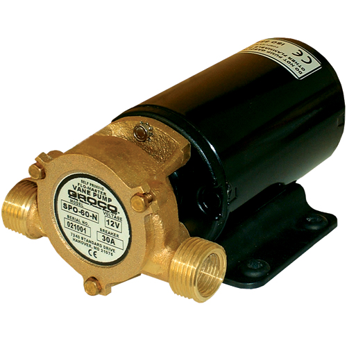 Groco 24V Single Direction Pump, 8.5L x 4.5W x 4.5H