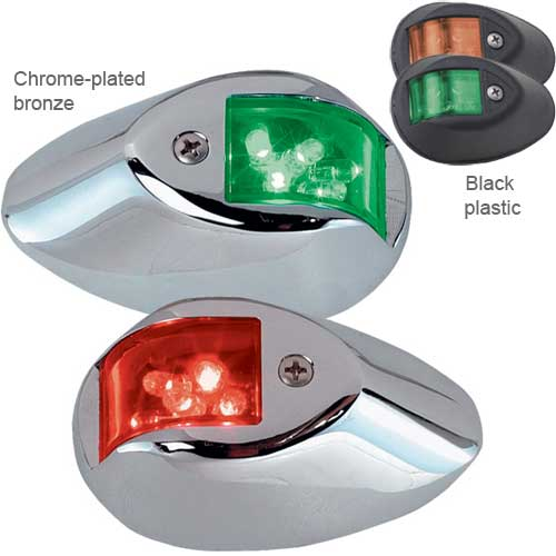 Perko 602 Series LED Side Light Pair, Chrome-Plated Bronze Case Sale $177.99 SKU: 2099091 ID# 0602DP1CHR UPC# 85226344466 :