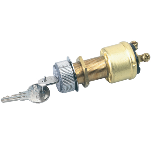 Cole Hersee Three Position Ignition Switch, OFF-Ignition-Start Functions