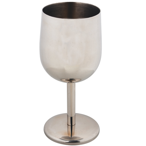 Nonskid Stainless-Steel Wine Goblet