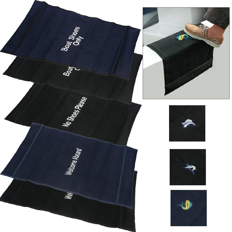 """Boatmat """"Welcome Aboardx9D Boarding Mat, Navy Sale $79.99 SKU: 2279198 ID# WA-20 NAVY UPC# 834223000154 :"""
