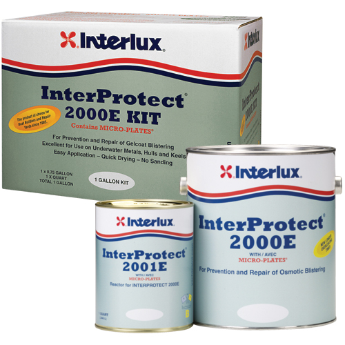 Interlux InterProtect 2000 Base, 3 Gallons, Gray (Reactor Sold Separately) Sale $264.99 SKU: 11212057 ID# Y2000E/3 UPC# 81948000253 :