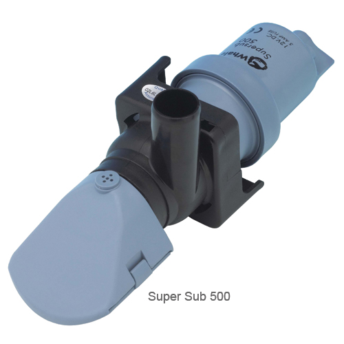 Whale Pumps Super Sub Pump 500, 500gph