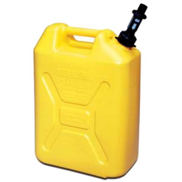 Scepter 5 Gallon CARB Diesel Tall Jerry Can with CRC (Yellow)
