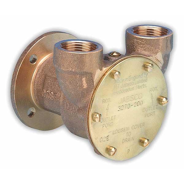Jabsco Bronze Flange-Mount Engine Cooling Pump Sale $379.99 SKU: 260567 ID# 3270-0001 UPC# 671880002776 :