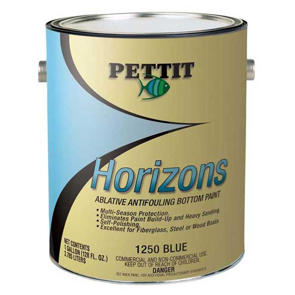 Pettit Paints Horizons Multi-Season Bottom Paint, Blue, Gal. Sale $219.99 SKU: 2670925 ID# 1125006 UPC# 725469019577 :