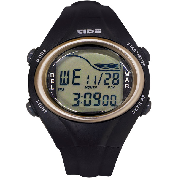 Del Mar Tide Watch Black