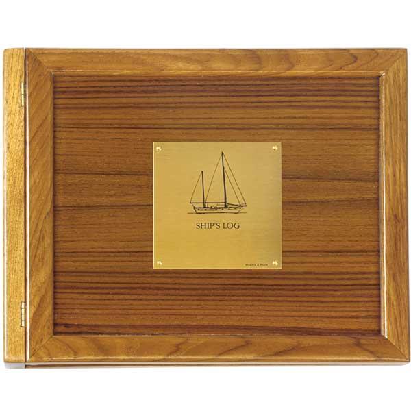 Weems & Plath Sailboat Teak Log Cover