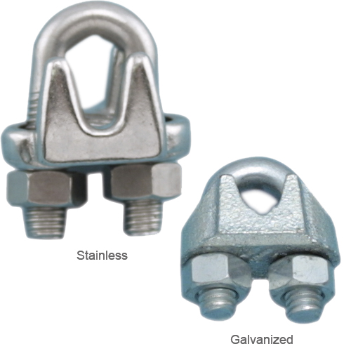 WEST MARINE Wire Rope Clamps