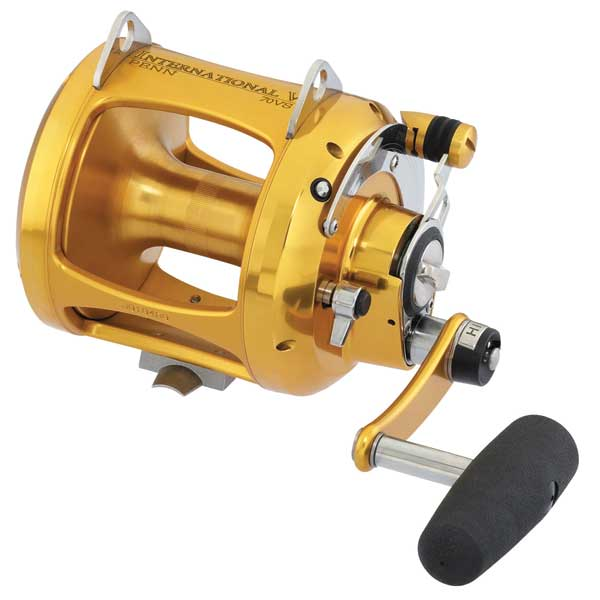 PENN Two-Speed Reel - 70VS, 600 Yards/80 lb. Test, 3.1:1/1.3:1 Gear Ratio, 89oz.
