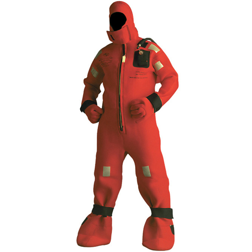 Stearns Cold Water Immersion Suit, Universal Adult 110--330lb., 4'11--6'3H, No Harness