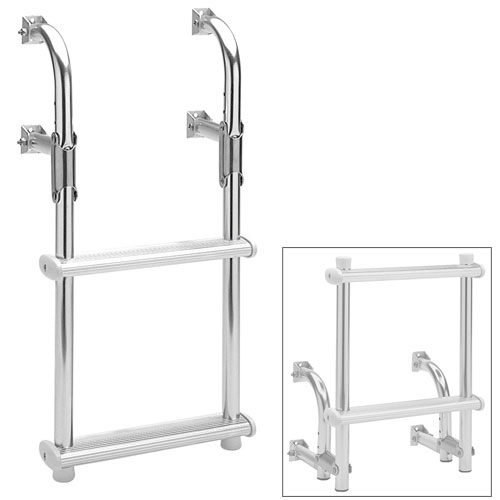 Garelick Fold-Down Transom Ladder