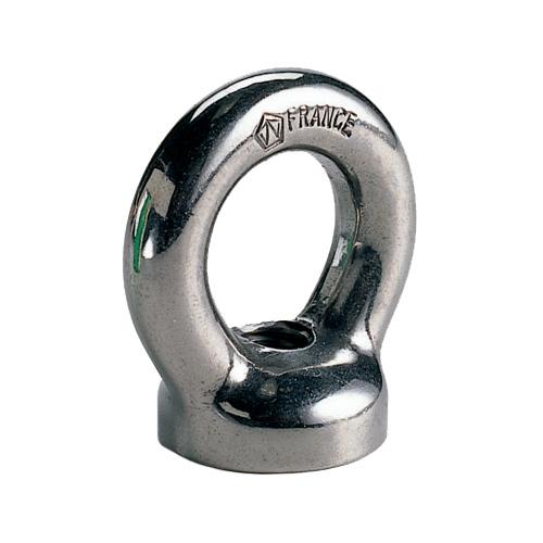 Wichard 1/2 Stock Dia. Eye Nut, 1-1/16 Hole Dia., 1/2-13 Thread Dia., 15,550lb. Breaking Load